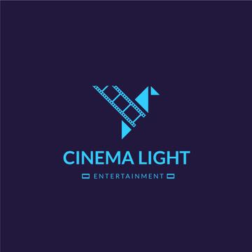 Cinema Club Ad with Film Icon