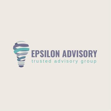 Advisory Company with Lamp Icon