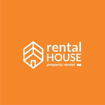Property Rental with House Icon
