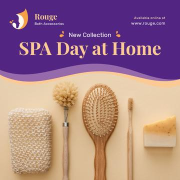 Spa Accessories Offer Brushes and Sponges