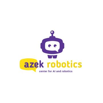 Robotics Center Ad with Cute Android