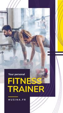 Personal Trainer Promotion People Exercising