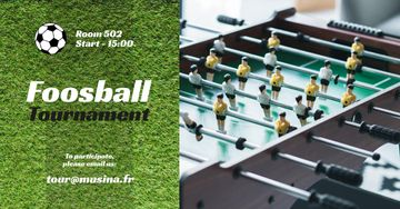 Foosball Tournament Announcement