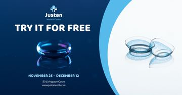 Contact Lenses Offer in Blue