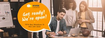 Coworking Space Promotion with Successful Business Team