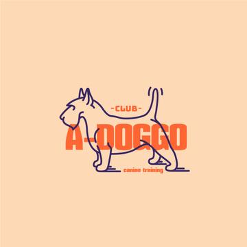 Canine Training Club with Funny Dog