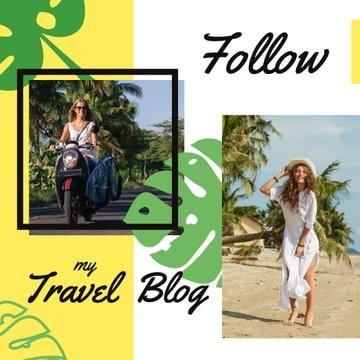 Travel Blog Promotion Woman at Seacoast