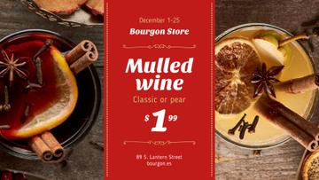 Holidays Offer Red Mulled Wine