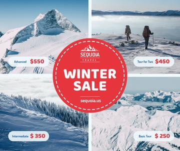 Winter Tour offer Hikers in Snowy Mountains