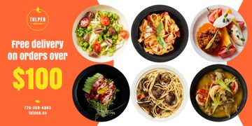 Meal Delivery Menu Offer