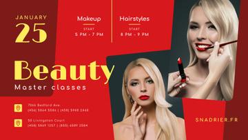 Beauty Courses Beautician applying Makeup