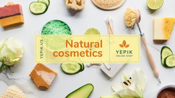 Natural Skincare Products Offer with Soap and Salt