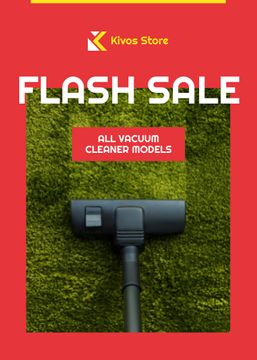 Flash Sale Vacuum Cleaner on Carpet