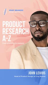 Product Design Company Ad Confident Businessman
