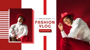Fashion Trends with Stylish Man in Red