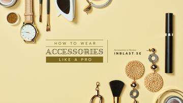 Accessories Guide with Fashion Outfit Composition