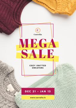 Warm Knitted Sweaters Sale