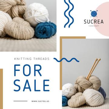 Knitting Equipment Sale Wool Yarn Skeins
