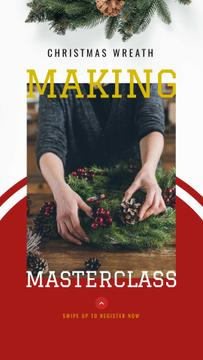 Christmas Decoration Workshop ad
