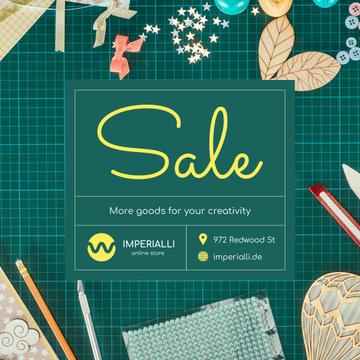 Creative Handmade Supplies Ad