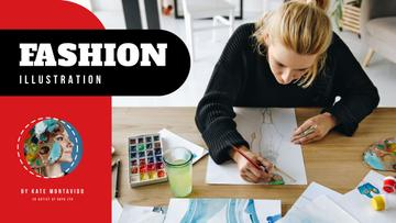 Fashion Illustration Classes Designer with Collection Drawings