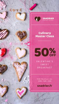 Culinary Master Class with Valentine's Cookies