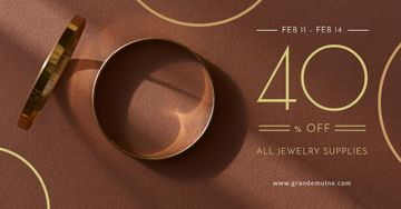 Valentine's Day Jewelry golden Rings