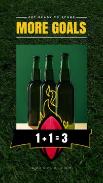 Super Bowl Offer Beer Bottles