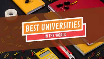 University Ad School Stationery on Table