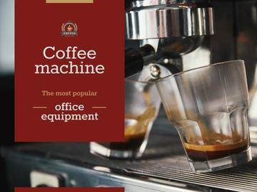 Coffee Machine Sale with Brewing Drink