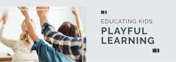 Education Program Students in Classroom