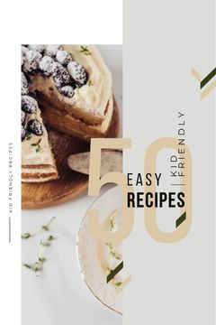 Recipes Guide Sweet Cake with Berries