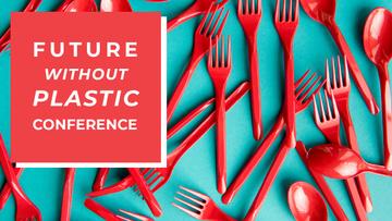 Crowdfunding Platform Red Plastic Tableware