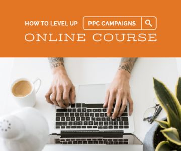 Online Course Ad Hands Typing on Laptop