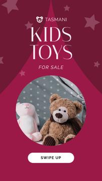 Sale Announcement Stuffed Toys