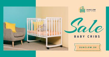 Baby Store Ad Crib in Nursery