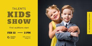 Kids Talent Show Invitation