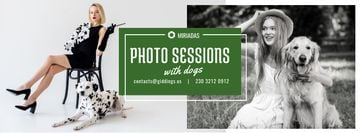 Photo Session Offer Girls with Dogs
