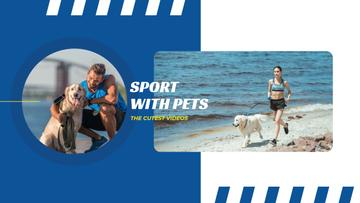 Sports with Pets Inspiration with People Running with Dogs