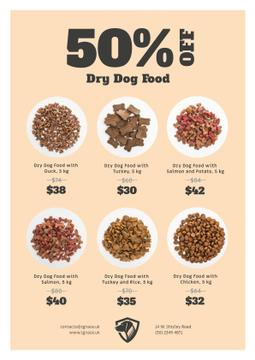 Pet Food Sale Announcement