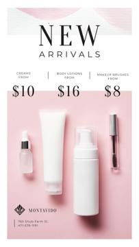Cosmetics Ad Skincare Products Jars
