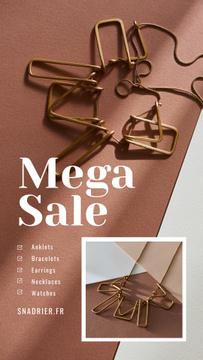 Jewelry Sale Shiny Chain Necklace