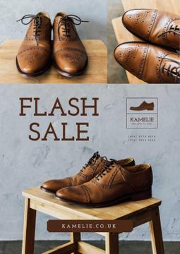 Fashion Sale with Stylish Male Shoes