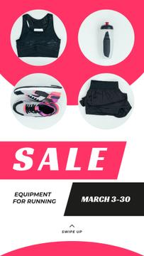Sale Offer Sports Equipment in Pink