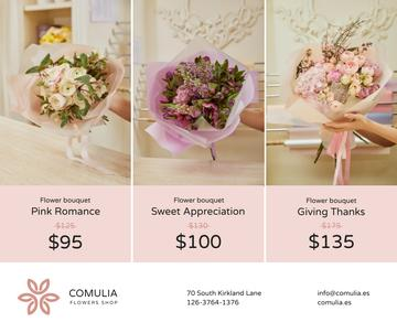 Florist Services Offer Bouquets of Flowers
