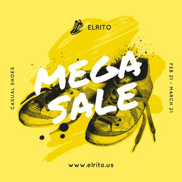 Shoes Sale Sneakers in Yellow