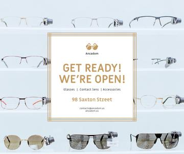 Glasses Store Opening Announcement