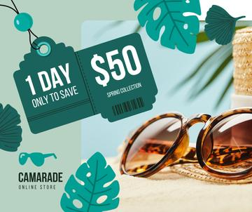 Sunglasses Sale Ad Stylish Vintage Glasses