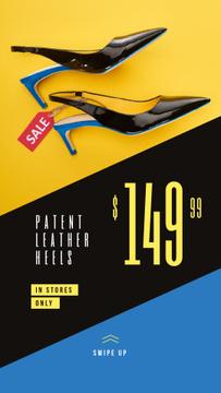 Female Fashionable Heeled Shoes Sale