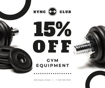 Gym Equipment Sale with Dumbbells